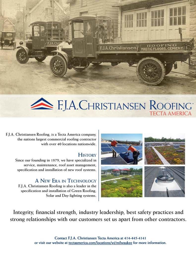 FJA Christiansen Roofing Ad
